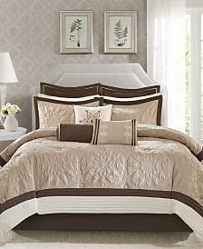 Madison Park Juliana 9-Pc. Charmeuse Comforter Sets