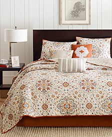 Tissa 6-Pc. Full/Queen Coverlet Set