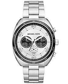 Michael Kors Men's Chronograph Dane Stainless Steel Bracelet Watch 43mm