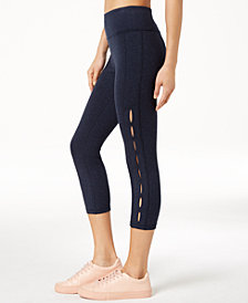 Calvin Klein Performance High-Rise Cutout Cropped Leggings