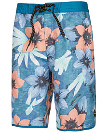 "Rip Curl Men's Seaview Floral-Print 21"" Board Shorts"