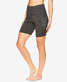 Gaiam High-Rise Yoga Shorts