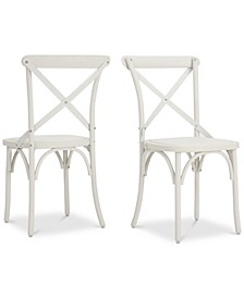 Sophia Outdoor Dining Chairs (Set of 2)