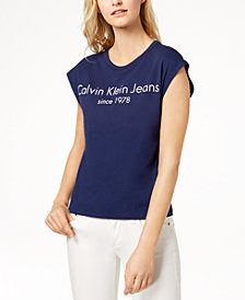 Calvin Klein Jeans Cotton Graphic T-Shirt