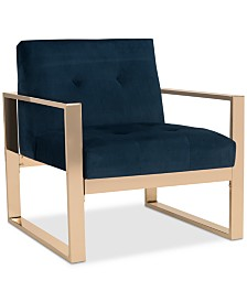 Stocker Accent Chair, Quick Ship