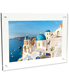"Acrylic 14"" x 19"" Magnetic Picture Frame"