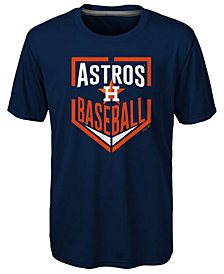 Outerstuff Houston Astros Run Scored Poly T-Shirt, Big Boys (8-20)