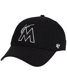 '47 Brand Miami Marlins Curved MVP Cap