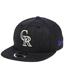 New Era Colorado Rockies Heather Hype 9FIFTY Snapback Cap