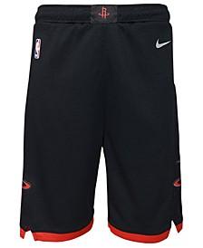 Houston Rockets Statement Swingman Shorts, Big Boys (8-20)