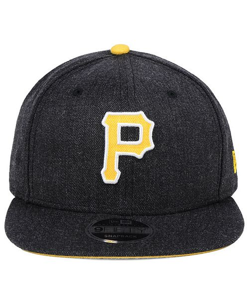 more photos 6f497 e22c7 ... where to buy coupon code for new era pittsburgh pirates heather hype 9fifty  snapback cap sports