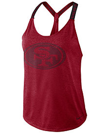 Nike Women's San Francisco 49ers Elastika Tank Top