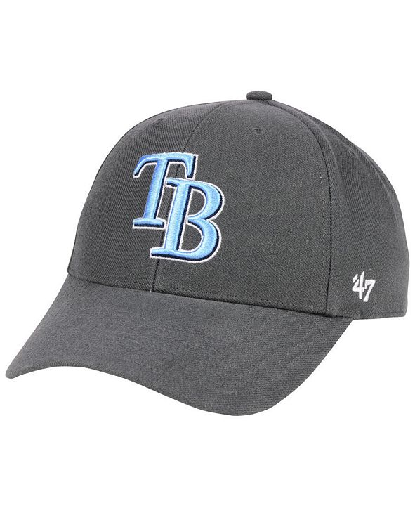 '47 Brand Tampa Bay Rays Charcoal MVP Cap