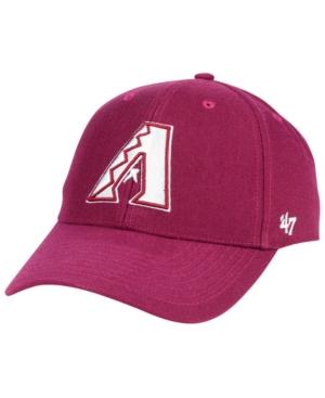 '47 Brand Arizona Diamondbacks Cardinal Mvp Cap Men Activewear - Sports Fan Shop By Lids