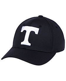Top of the World Tennessee Volunteers Phenom Flex Black White Cap