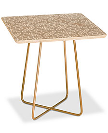 Deny Designs Little Arrow Modern Moroccan in Odessa Square Side Table