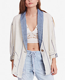 Free People Aria One-Button Blazer