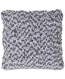 "Modern Textured Ombre Loop 18"" Decorative Throw Pillow"