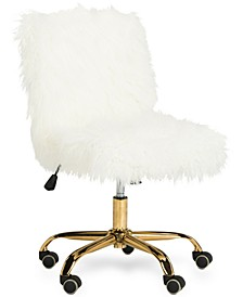 Hanna Faux Fur Office Chair
