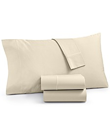 Organic 4-Pc Queen Sheet Set, 300 Thread Count GOTS Certified, Created for Macy's