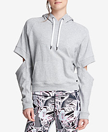 DKNY Sport Cold-Elbow Logo Hoodie
