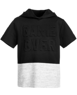 Ideology Big Boys Game Over Colorblocked Hoodie Created for Macys