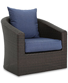 Malibu Outdoor Club Chair (Set of 4), Quick Ship
