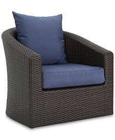 Malibu Outdoor Club Chair (Set of 4), Quick Ship