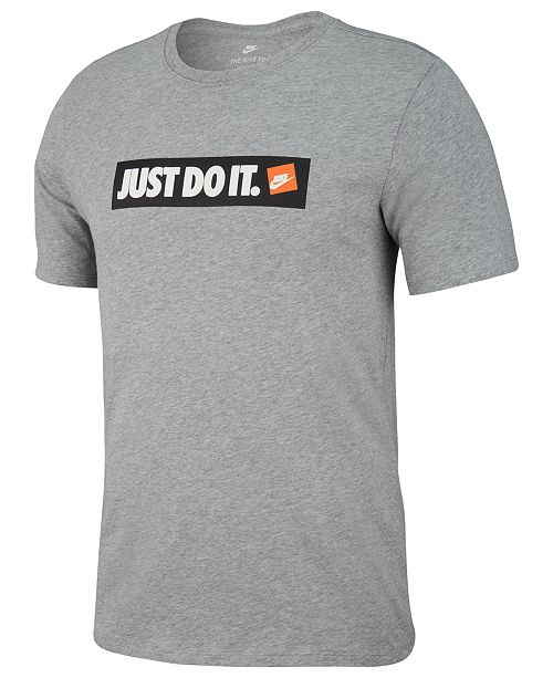 2c80a61a9e1e1 Nike Men s Just Do It T-Shirt   Reviews - T-Shirts - Men - Macy s