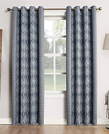 "CLOSEOUT! Sun Zero Tahoe 52"" x 84"" Theater Grade 100% Blackout Grommet Curtain Panel"