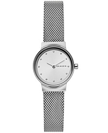 Women's Freja Stainless Steel Mesh Bracelet Watch 26mm