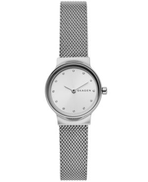 Women'S Freja Stainless Steel Mesh Bracelet Watch 26Mm in Silver