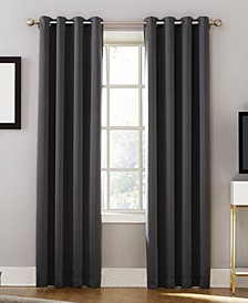 """CLOSEOUT! Oslo 52"""" x 95"""" Theater Grade 100% Blackout Grommet Curtain Panel"""