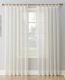 "Lichtenberg No. 918 Sheer Voile 59"" x 84"" Tab Top Curtain Panel"