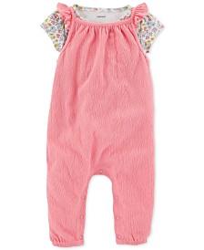b7e40c0b4 Coveralls Baby Girl Clothes - Macy s