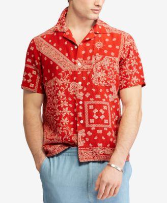 Polo ralph lauren red dress shirt