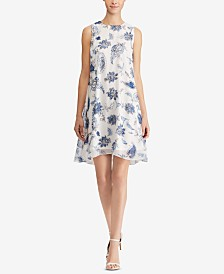 American Living Floral-Print Dress