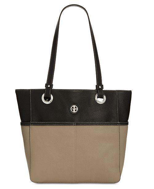 7d0ae94cdaa Giani Bernini Pebble Leather Tote, Created for Macy s - Handbags ...