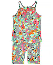 Epic Threads Little Girls Tank Top & Shorts, Created for Macy's