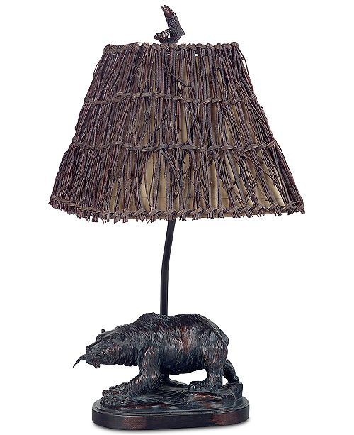 Cal Lighting Bear Accent Lamp