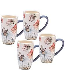 4-Pc. Country Weekend Mugs Set