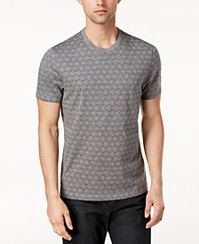 Alfani Men's Geo-Print T-Shirt, Created for Macy's