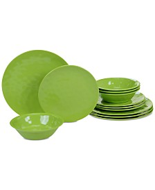 Certified International Green Dinnerware, 12-Pc. Set