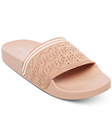 Steve Madden Women's Vibe Knit Slide Sandals