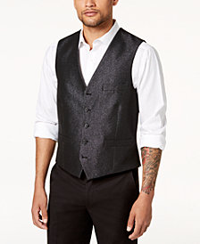 I.N.C. Men's Slim-Fit Embellished Vest, Created for Macy's