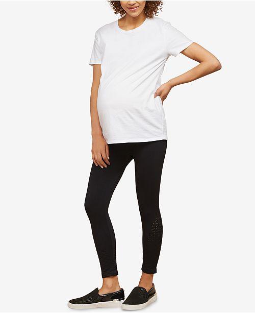 7d2be2c1a6232d Motherhood Maternity Cropped Leggings - Maternity - Women - Macy's