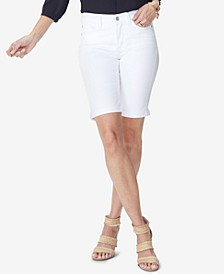 Briella Denim Bermuda Shorts