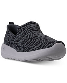 Skechers Women's GOwalk Joy - Nirvana Wide Casual Walking Sneakers from Finish Line