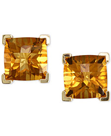 EFFY® Citrine Stud Earrings (4-1/5 ct. t.w.) in 14k Gold