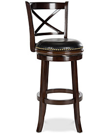Greeson Swivel Bar Stool, Quick Ship